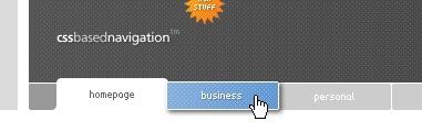 CSS Navigation Showcase: CSS Based Navigation [1] // Superflousbunter