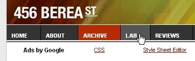 CSS Navigation Showcase: Turning A List Into A Navbar // 456bereastreet.com